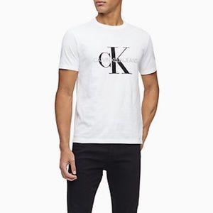 Calvin Klein Monogram Logo Crewneck T-Shirt